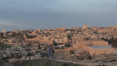 Israil, Jerusalem, Old City stock footage
