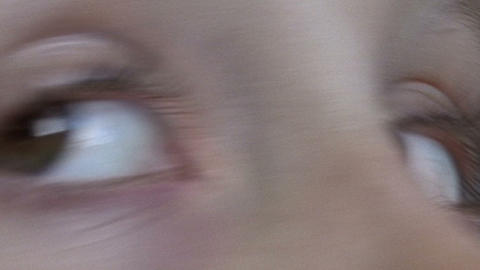 Eyes stock footage