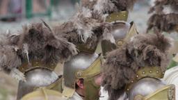 Roman legionaries 18 Footage