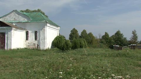 Monastery Apiary stock footage