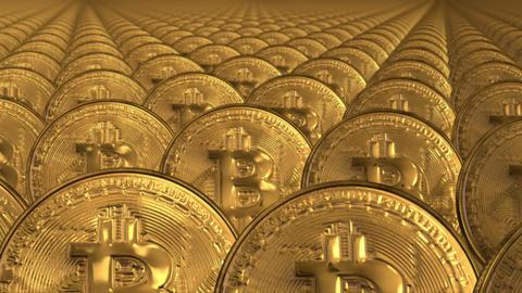 bitcoin loop Animation
