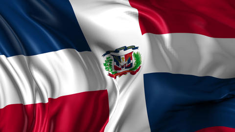 Flag of Dominican Republic Animation