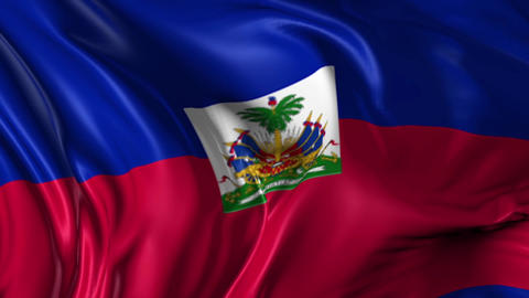 Flag of Haiti Animation