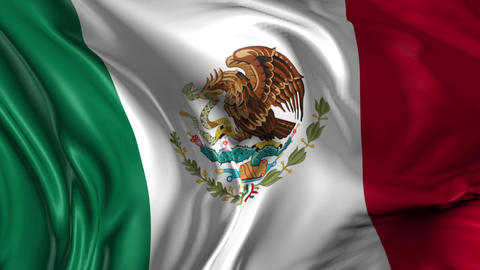 Flag of Mexico Animation