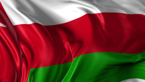 Flag of Oman Animation
