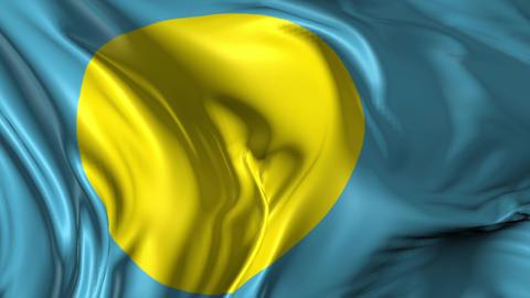 Flag of Palau Animation