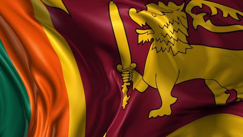 Flag of Sri Lanka Animation