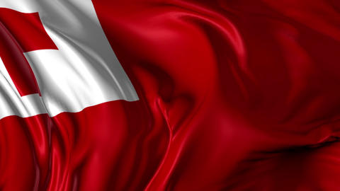 Flag of Tonga Animation