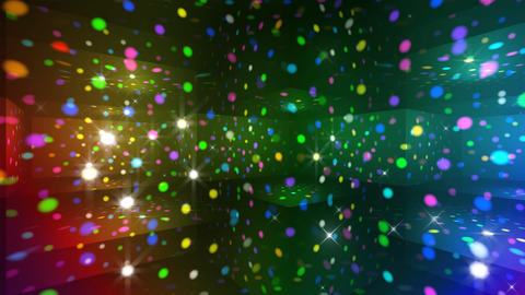 Disco Light RAr c3 HD Stock Video Footage