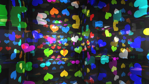 Disco Light RAr h1 HD Stock Video Footage