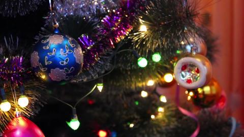 Christmas toys 2 Stock Video Footage