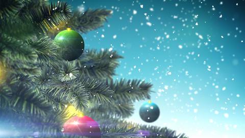 Christmas tree loop Stock Video Footage