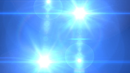 light twin reverse blue Stock Video Footage