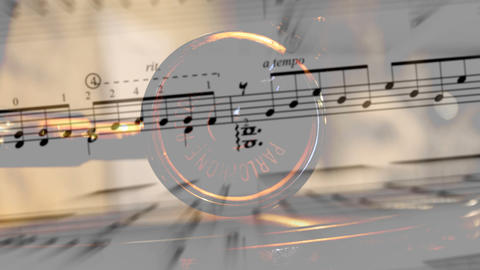 music and phonograph Stock Video Footage