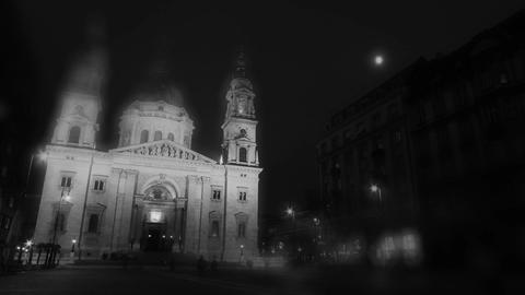 Basilica In The Evening 03 Stock Video Footage