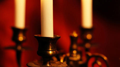 Candles 13 Stock Video Footage