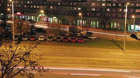 City Traffic Timelapse 02 Stock Video Footage