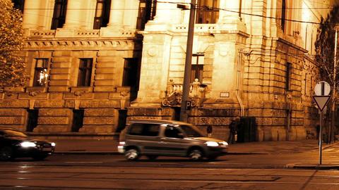 European City Night Timelapse 03 Stock Video Footage
