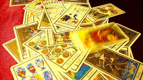 Foreteller Tarot Cards 02 Live Action