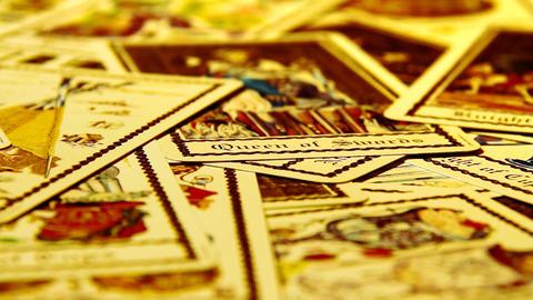Foreteller Tarot Cards 08 Footage