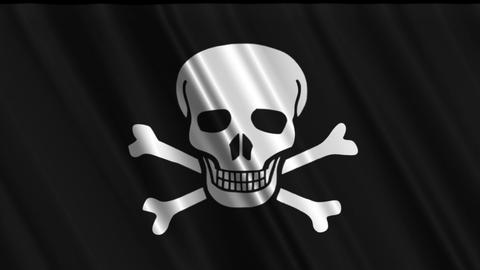 Pirate Flag Loop 01 Animation