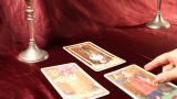 Tarot Cards 06 Dolly stock footage