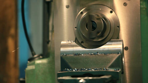 milling Machine Footage