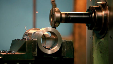 milling Machine Stock Video Footage