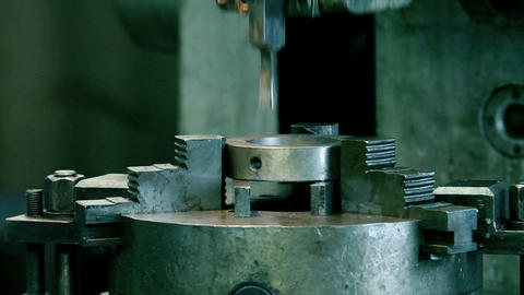Mortising machine Stock Video Footage
