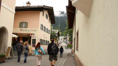 European Mountain Town Tirol 04 Footage