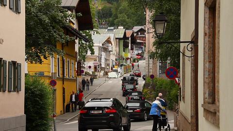 European Town Tirol 05 Footage