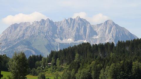 Mountains Beauty Scene 2 in 1 Stock Video Footage
