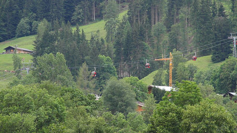 Ski Lifts in the Summer 01 Footage