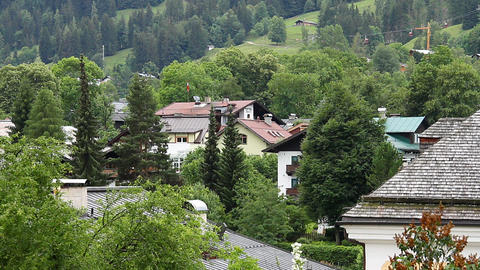 Small Town in Austria Tirol 02 Stock Video Footage