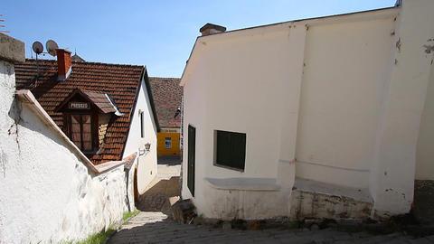 Old European Village 02 Stock Video Footage
