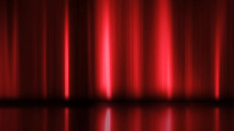 Stage Curtain 3 Ac2 HD Stock Video Footage