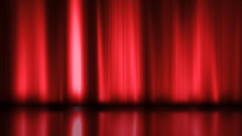 Stage Curtain 3 Ac2 HD Animation