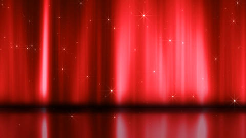 Stage Curtain 3 Ac4 HD Animation