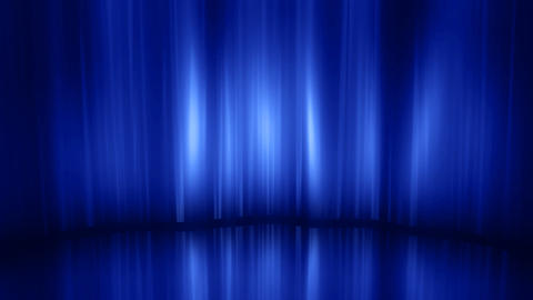 Stage Curtain 3 Ca HD Stock Video Footage