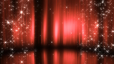 Stage Curtain 3 Cc2 HD Stock Video Footage