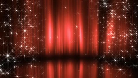 Stage Curtain 3 Cc2 HD Animation
