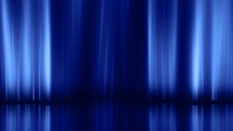 Stage Curtain 3 Da HD Stock Video Footage
