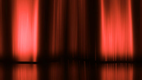 Stage Curtain 3 Dc HD Animation
