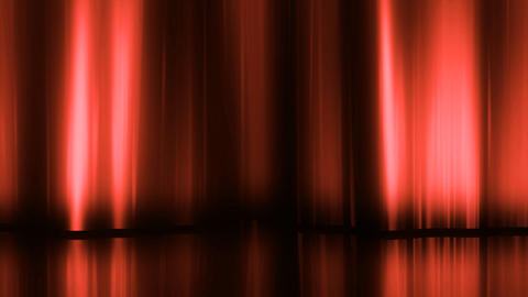 Stage Curtain 3 Dc HD Stock Video Footage
