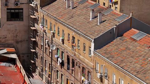 Naples Scene 01 Stock Video Footage
