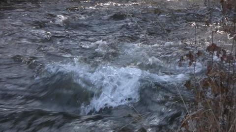 Mountain Creek - nat. sound Stock Video Footage
