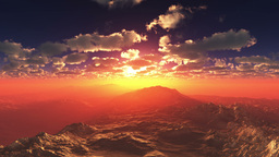 Mountain CG動画素材