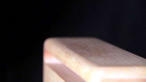 Wood block Stock Video Footage