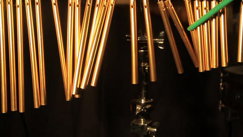 Wind chime bells Stock Video Footage