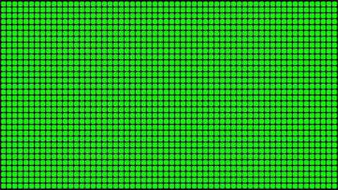 Green Screen Design 22 flickering loop Animation